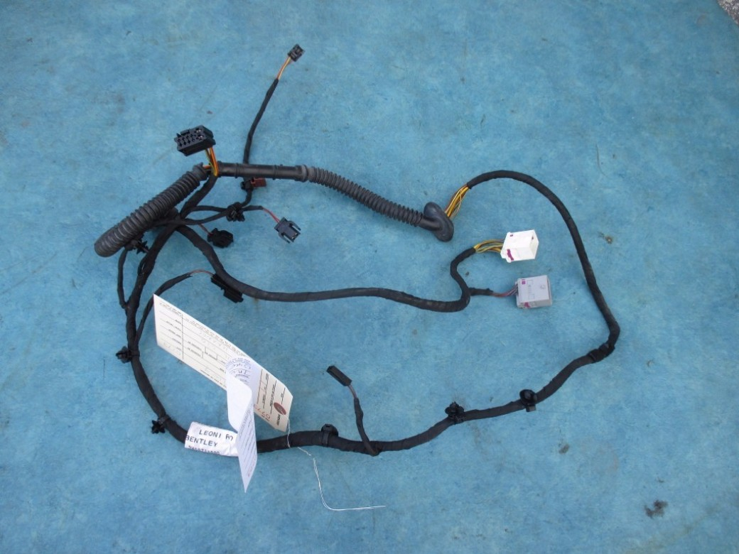 Bentley Continental Flying Spur trunk lid wire harness loom