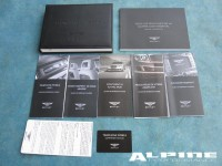 Bentley Continentyal Flying Spur owners manual - in French