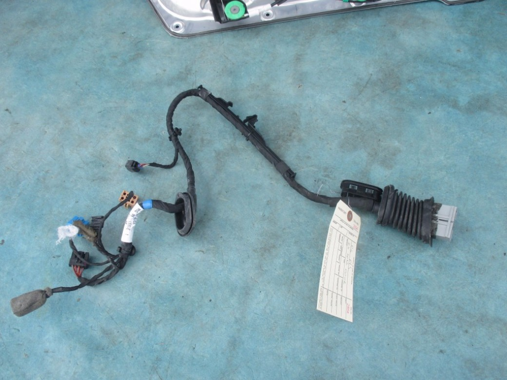Bentley Flying Spur Right Rear Door Wire Harness Used