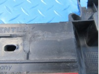 Bentley GT GTC rear bumper right center guide bracket #7465