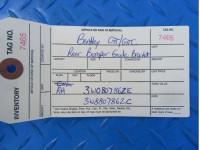 Bentley GT GTC rear bumper right center guide bracket #7465