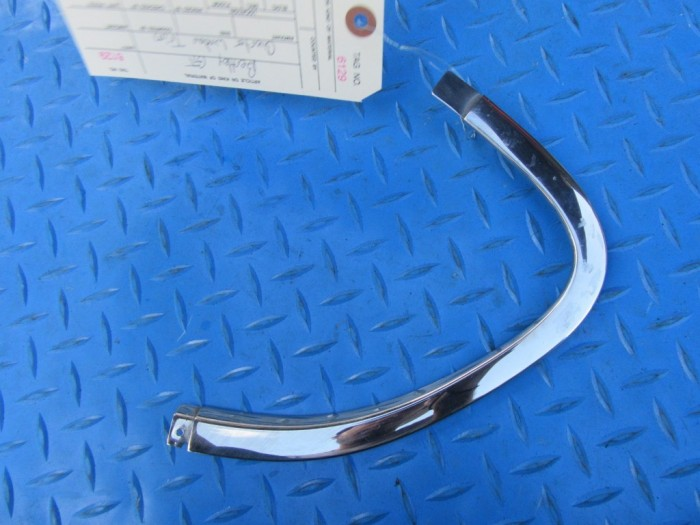 Bentley GT left rear quarter window chrome trim moulding #6129