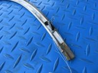 Bentley Flying Spur left rear quarter glass window trim molding #6523