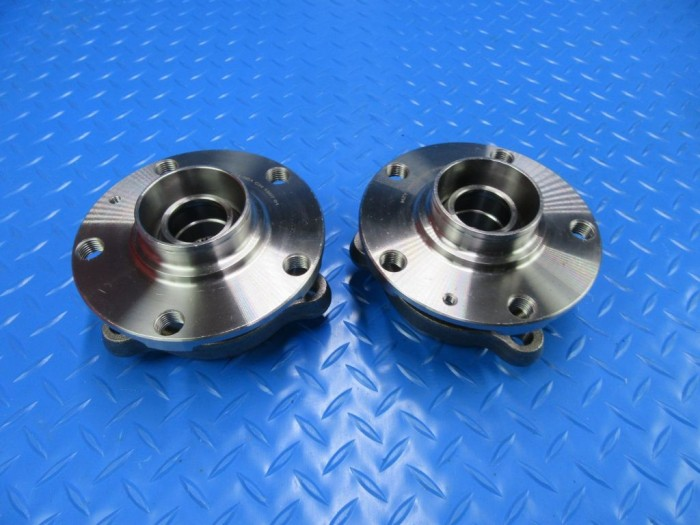 Bentley Gt Gtc Flying Spur front left right wheel hub bearing pair 2pcs #7797